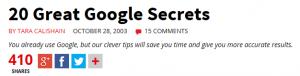 googlesecrets