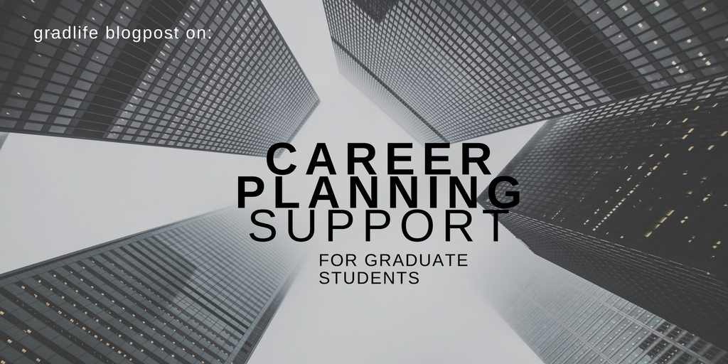 CAREER PLANNING SUPPORT FOR GRADUATE STUDENTS