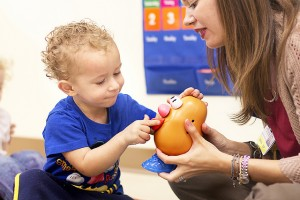 Image Caption: Building Mr. Potato Head CC Image Courtesy of All Children's Hospital