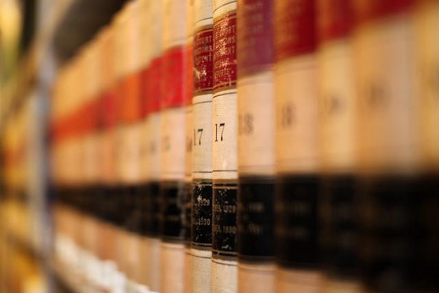Image Caption: Law Books, CC Image Courtesy of Mr.TinDC