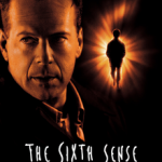 Sixth sense poster with Bruce Willis