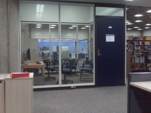 The Research Consultation Room at Kelly Library