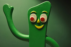 You don't have to be Gumby to benefit from Yoga!
