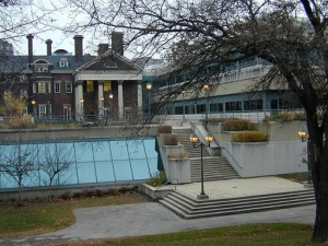 Photo of the stage entrance, courtesy of Hart House.