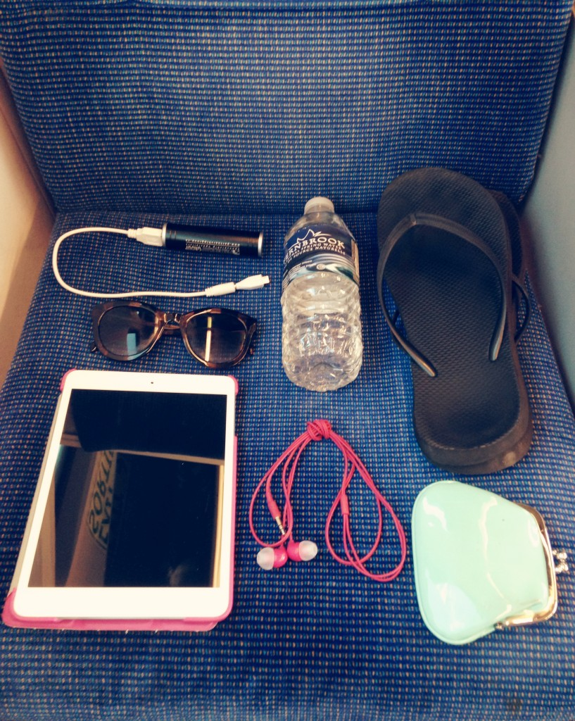 My other commuting essentials include; an on-the-go phone charger, water, comfortable shoes to change into, something to read or listen to music on, earphones, and a coin purse for TTC change