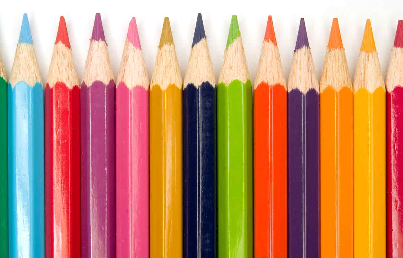 I live for colourful school supplies! (via blog.credit.com)