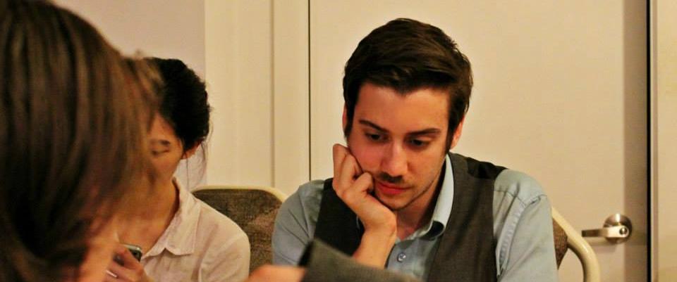 Photo of Charles pondering