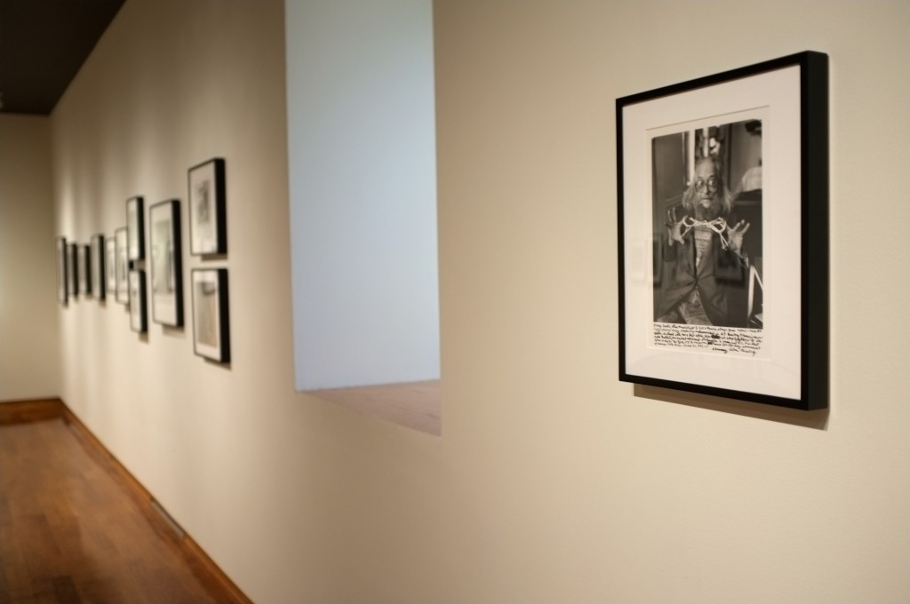 photographs from the Ginsberg Exhibit