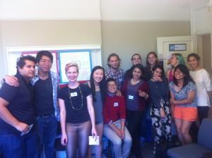Friendly faces at SGDO!