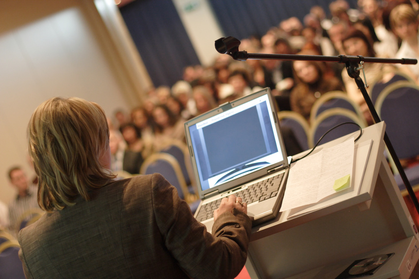 "Picture of some conference I found by googling ""conference"""
