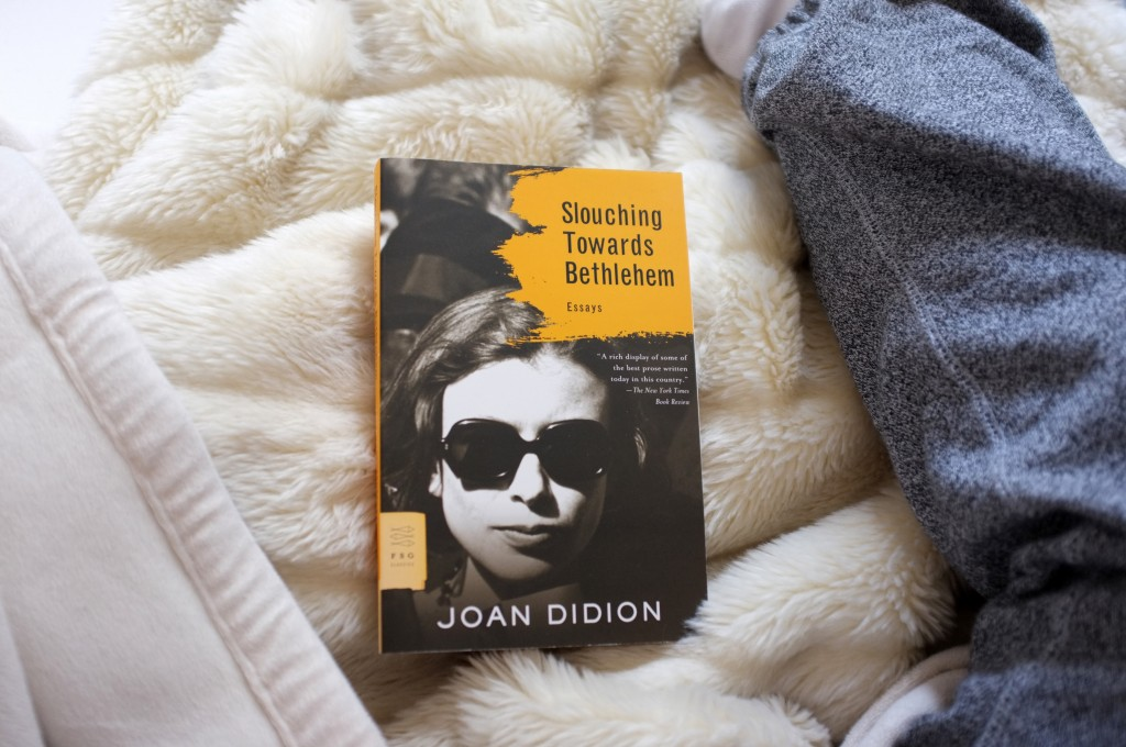 a book (joan didion's slouching towards bethlehem)
