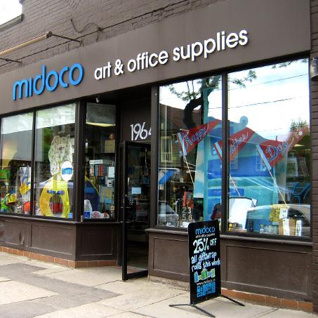 photo of midico art supply store