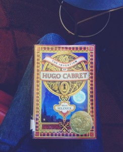 just look at this beautiful copy of Hugo Cabaret