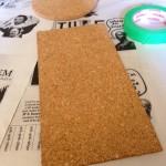 plain corkboard