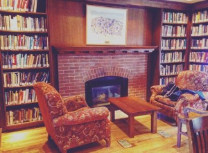 photo of Reading Room at Graham Library