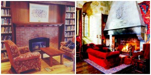 our very own Gryffindor common room! second photo source: http://ohbellamort.tumblr.com/post/25284999384/saharas-the-gryffindor-common-room