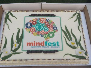 Mindfest cake was enjoyed mindfully by all