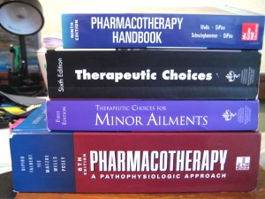 "A collection of the ""bibles"" of Pharmacy!"