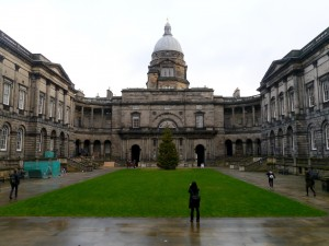 My home for the last three months: University of Edinburgh