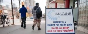 IMAGINE sign