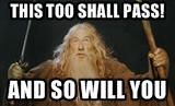 gandalf exam motivation
