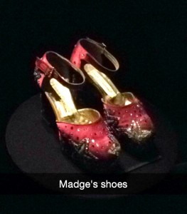 if I can't go see Madonna, at least I can go see her shoes? #MaterialGirl