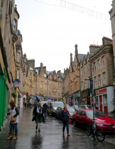 And the new home: my favourite street in Edinburgh