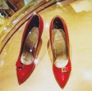 Marilyn Monroe's red heels!