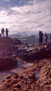 """A picture from a recent """"hillwalk"""", one of my favourite new activities."""