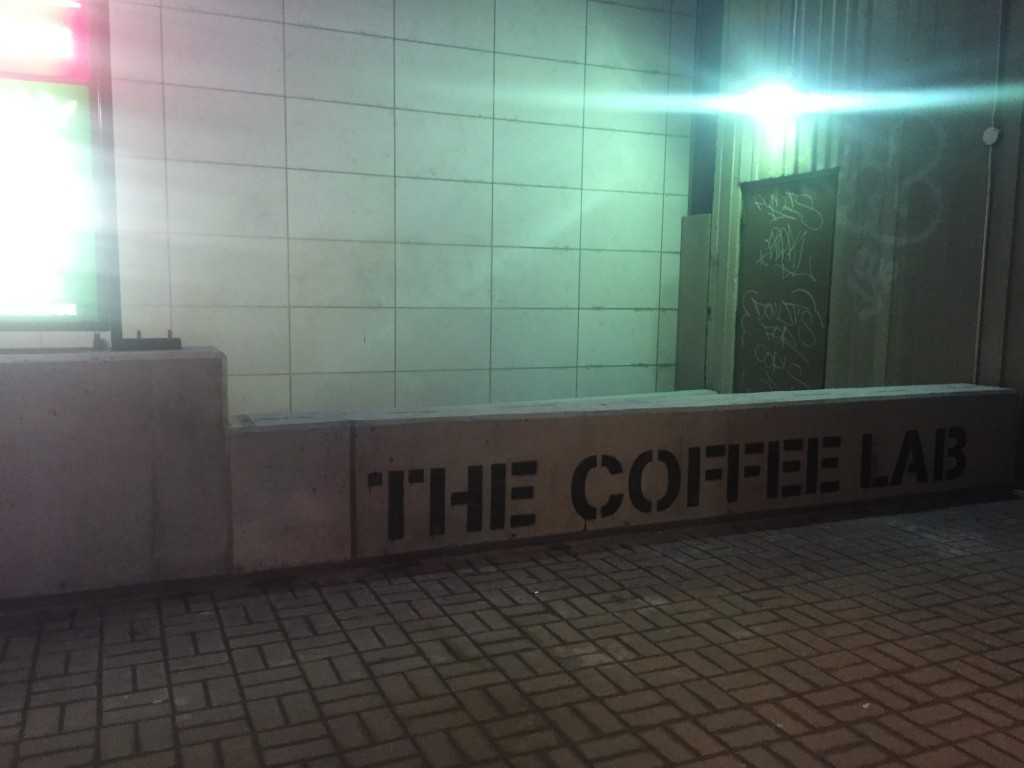 Pictured: Front of the Coffee Lab