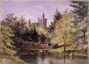 McCaul's Pond. Painting by Lucius O'Brien, 1876. Source: http://heritage.utoronto.ca/chronology