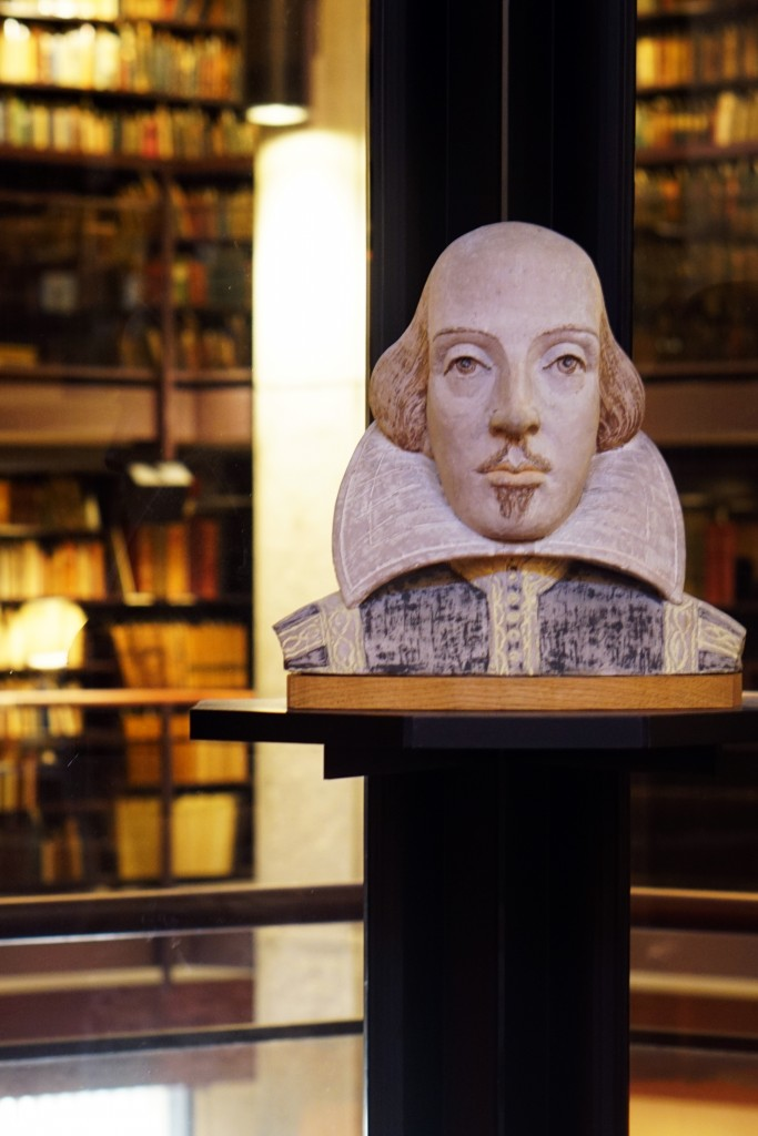 bust of shakespeare