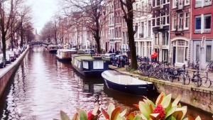 Amsterdam's famous canals