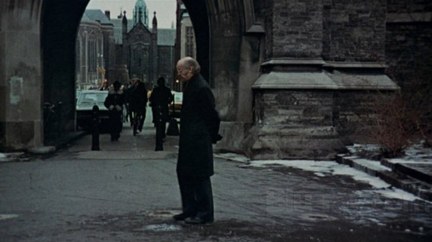 Pictured: Still of Black Christmas in Hart House Circle