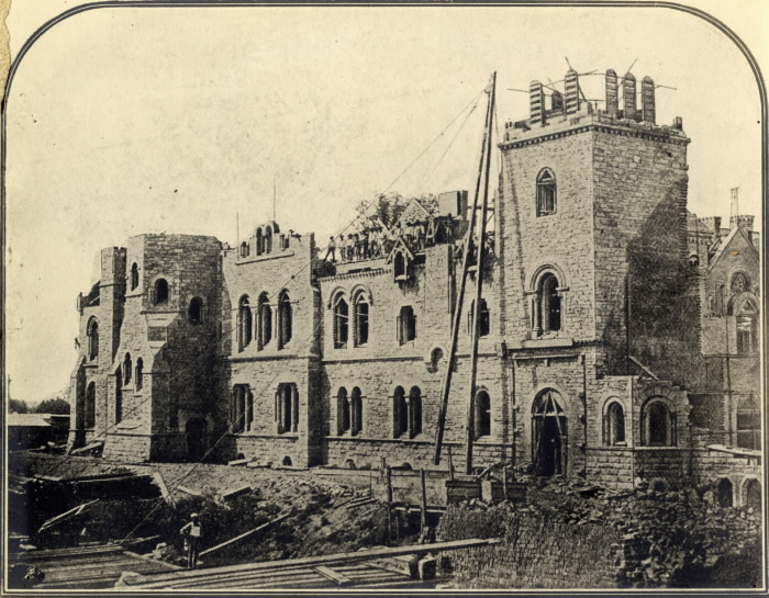 another shot of the iconic University College building in construction, circa 1857. source: Toronto Public Library Records http://www.torontopubliclibrary.ca/detail.jsp?Entt=RDMDC-PICTURES-R-2968&R=DC-PICTURES-R-2968