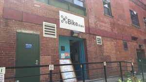 The front entrance of Bike Chain