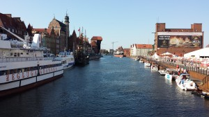 The City of Amber! AKA Gdansk, Poland. Picture of the port. (Credit: Meimei)