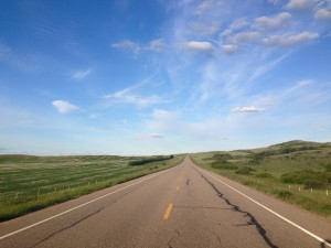 Picture of Alberta highway
