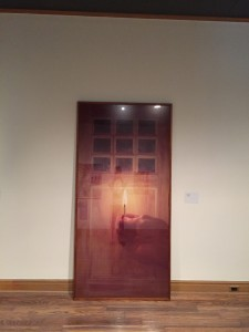 "ALT=""Michael Snows photograph of his work titled Door"""