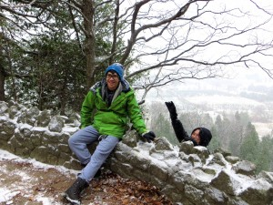 "ALT=""My dad and I at Rattlesnake Point"""