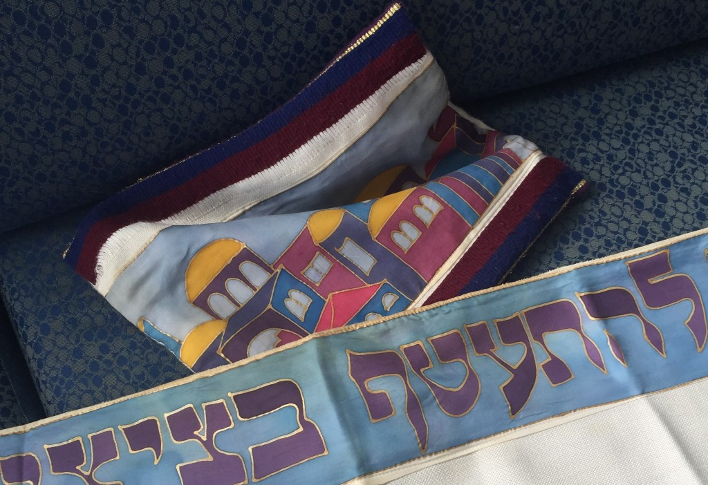"""Jewish prayer shawls"""