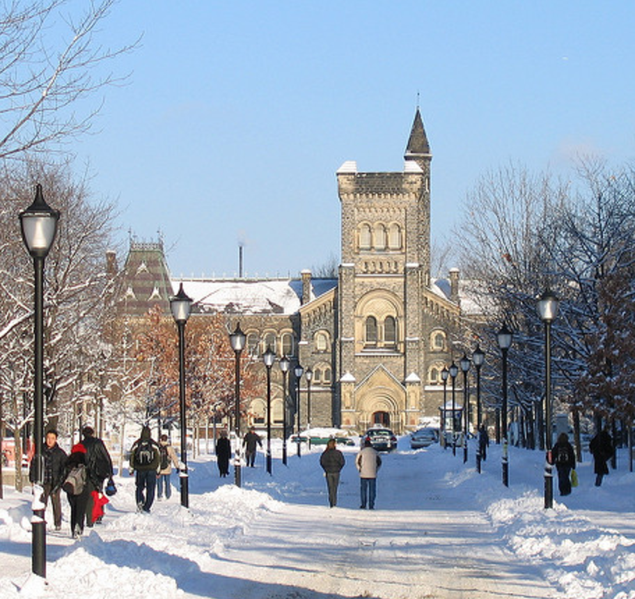 U of T winter picture