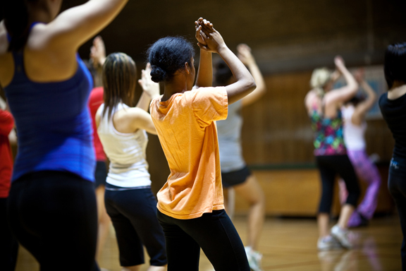 Drop-in dance class
