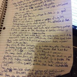 "ALT=""Messy scrawl on paper"""