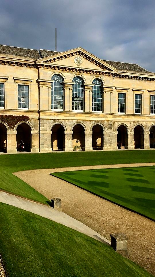 Worcester College Quad!