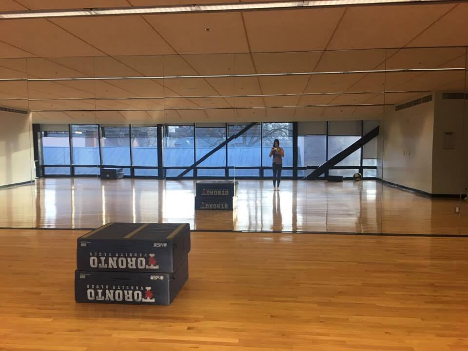 Keep calm and roll on – myofascial release at Goldring – Life U of T