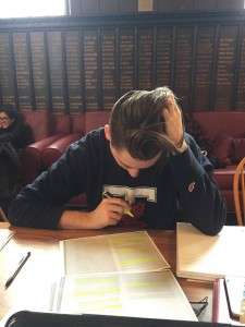 "ALT=""Photo of a student studying at a table"""