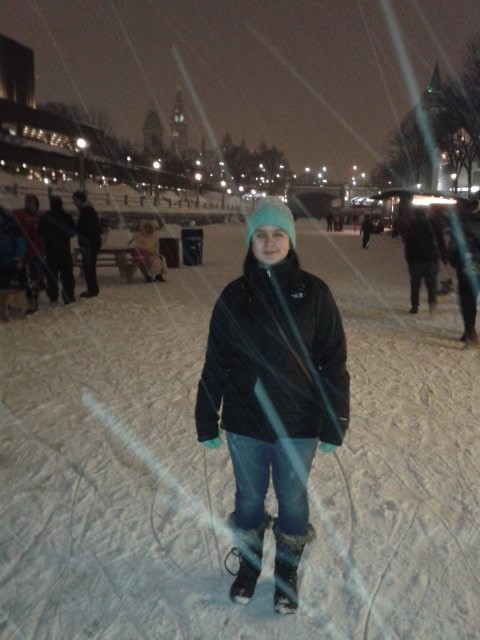 Picture of Liana at the Rideau Canal