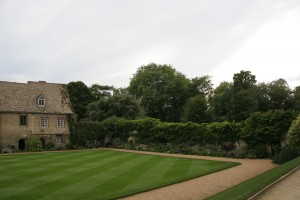 Picture of front lawn and garden of Worcester College, Oxford University