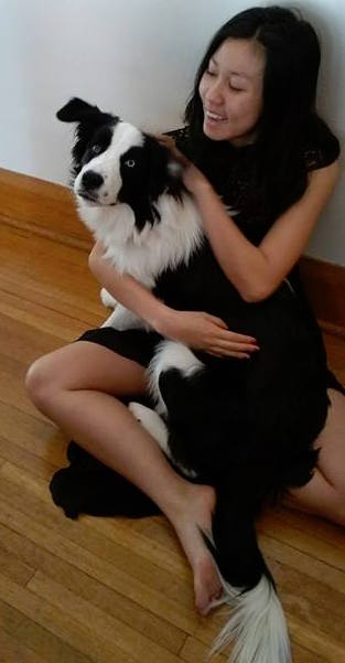 Me and my border collie